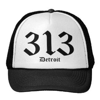 Gorra de 313 Detroit