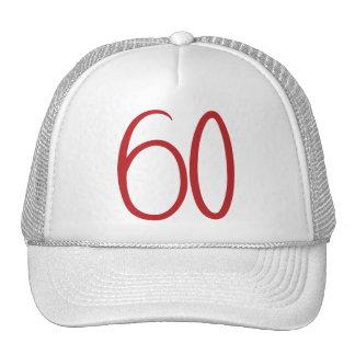 gorra de 60 rojos