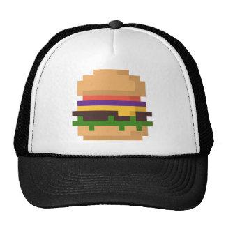 gorra de 8 bits de la hamburguesa