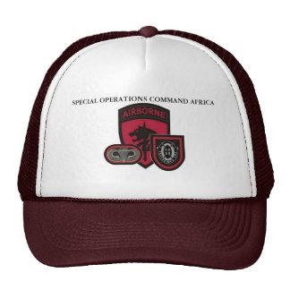 Gorra de África del comando de operaciones