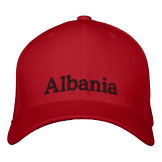 Gorra de Albania Gorra Bordada