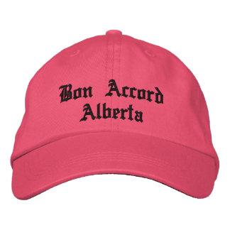 Gorra de Alberta del acuerdo del Bon Gorras De Beisbol Bordadas
