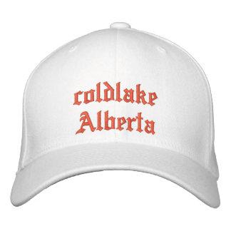 gorra de Alberta del coldlake Gorra De Beisbol Bordada
