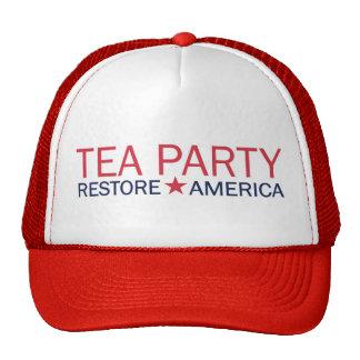 Gorra de América del restablecimiento del movimien