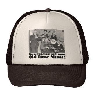 Gorra de antaño del camionero de la música