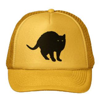 Gorra de arqueamiento afortunado del gato negro