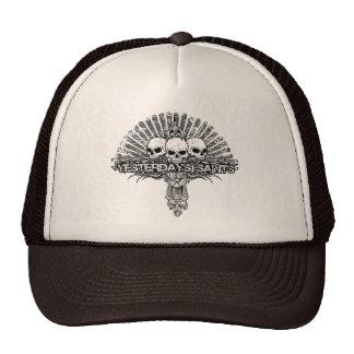 Gorra de ayer del camionero de los santos