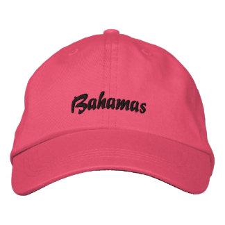 Gorra de Bahamas Gorra De Beisbol Bordada