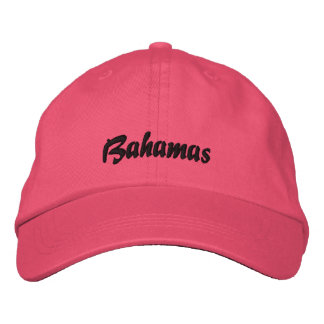 Gorra de Bahamas Gorras De Beisbol Bordadas