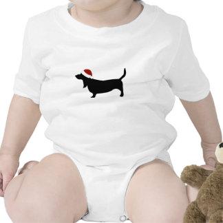 Gorra de Basset Hound Santa Trajes De Bebé