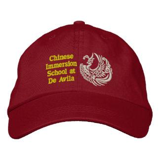 Gorra de béisbol adulta del CIS - rojo