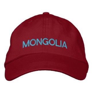 Gorra de béisbol ajustable de Mongolia