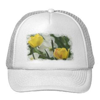 Gorra de béisbol amarillo del azafrán