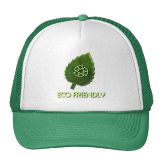 Gorra de béisbol amistosa de Eco