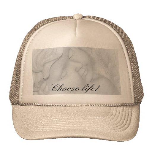 Gorra de béisbol antiabortista del ángel