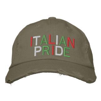 Gorra de béisbol apenada aceituna italiana del org