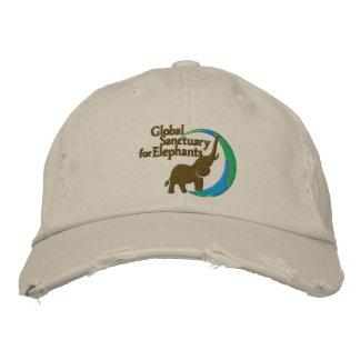 Gorra de béisbol apenada ajustable con el logotipo