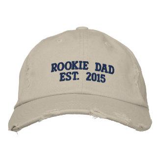 Gorra de béisbol apenada papá novato