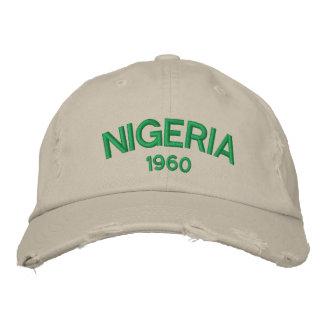Gorra de béisbol apenada personalizado de Nigeria