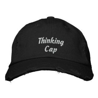 Gorra de béisbol bordada del casquillo de pensamie