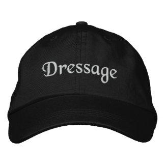 Gorra de béisbol bordada Dressage