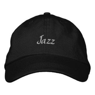 Gorra de béisbol bordada jazz