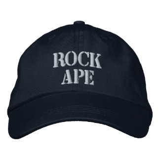 Gorra de béisbol bordada MONO de la ROCA