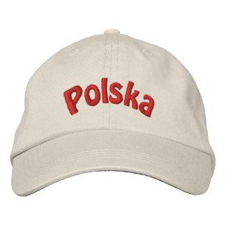 Gorra de béisbol bordada Polska polaca