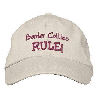 Gorra de béisbol bordada regla de los borderes col