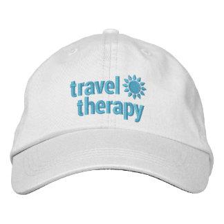 Gorra de béisbol bordado terapia del viaje