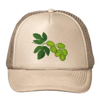 Gorra de béisbol botánica del arte de la flor de