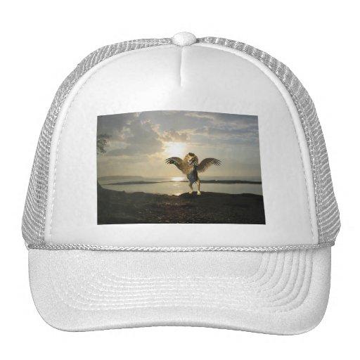 Gorra de béisbol con alas del león