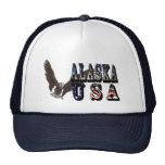 Gorra de béisbol de Alaska los E.E.U.U. Eagle