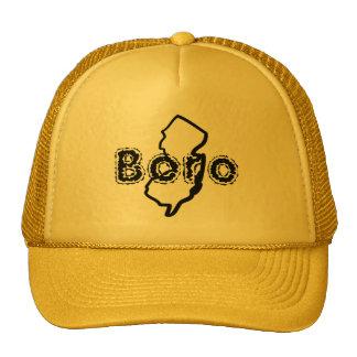 "Gorra de béisbol de ""Boro"" del oro"
