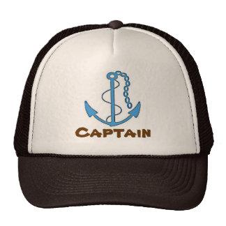 Gorra de béisbol de capitán Brown del barco