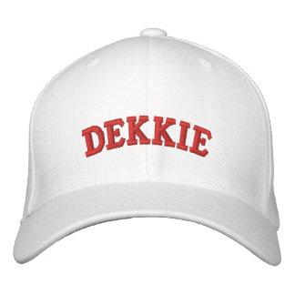 Gorra de béisbol de Dekkie