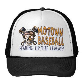 Gorra de béisbol de Detroit del cráneo