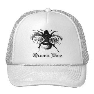 Gorra de béisbol de la abeja reina del vintage