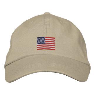 Gorra de béisbol de la bandera de los E.E.U.U.