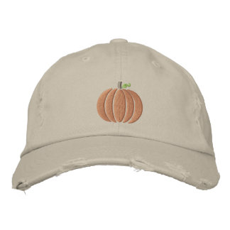 Gorra de béisbol de la calabaza