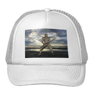 Gorra de béisbol de la conquista del guerrero
