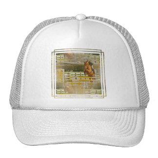 Gorra de béisbol de la demostración del caballo de