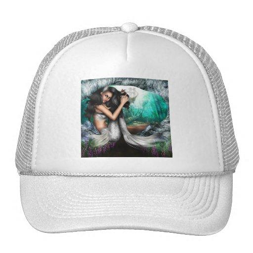 Gorra de béisbol de la fascinación de la sirena