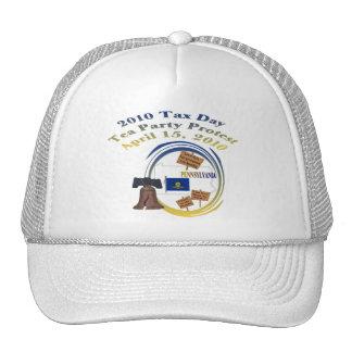 Gorra de béisbol de la fiesta del té de Pennsylvan