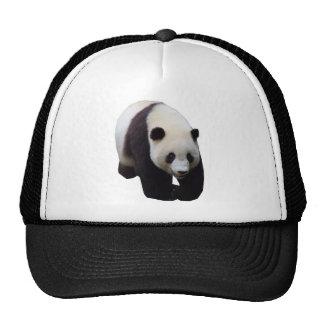 Gorra de béisbol de la foto de la panda gigante