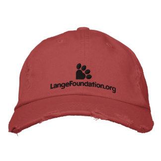 Gorra de béisbol de la fundación de Lange
