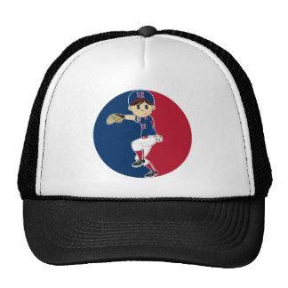 Gorra de béisbol de la jarra del béisbol