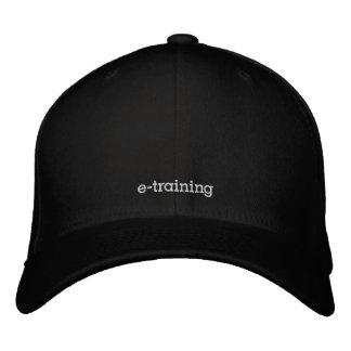 gorra de béisbol de la lana negra del vaina-e-entr