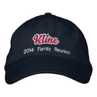 Gorra de béisbol de la marina de guerra de Kline