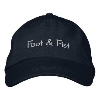 Gorra de béisbol de la marina de guerra - pie y